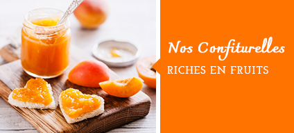 Confiturelles riches en fruits